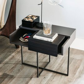 Dante Nightstand End Table by Cattelan Italia