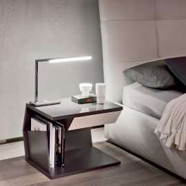 Club Nightstand End Table by Cattelan Italia
