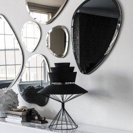 Hawaii Wall Mirror Mirrors by Cattelan Italia