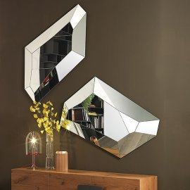 Diamond Wall Mirror Mirrors by Cattelan Italia