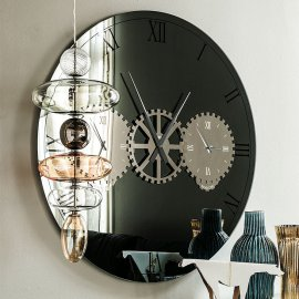 Times Wall Mirror Mirrors by Cattelan Italia