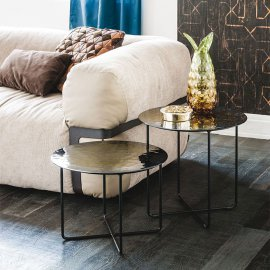 Vinyl Coffee Table End Table by Cattelan Italia