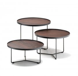 Billy Wood Coffee Table End Tables by Cattelan Italia