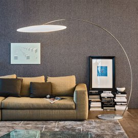 Astra Arc Floor Lamp Lighting by Cattelan Italia