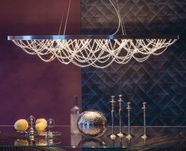 Cristal Ceiling Lamp Lighting by Cattelan Italia