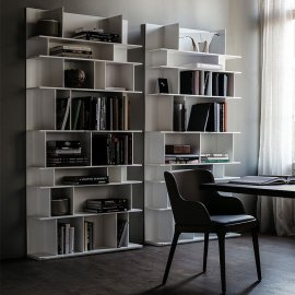 Wally Bookcase by Cattelan Italia