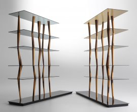 Sendai Crystal Bookcases by Horm