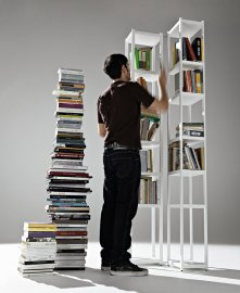 Singles Bookcase by Horm