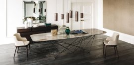 Gordon Keramik Dining Table Dining Tables by Cattelan Italia