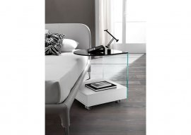 Rollo End Table by Tonelli