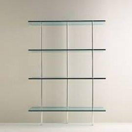 Trasparenza Bookcase by Tonelli