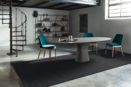 Podium Dining Table by Bontempi