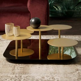 Valentine Metal Coffee Table by Tonin Casa
