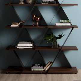 Castle Wooden Bookcase by Tonin Casa