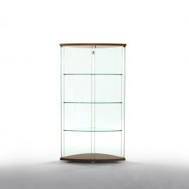 Gracia Glass Cabinet Cabinet by Tonin Casa