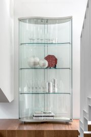 Oregina Glass Bookcase by Tonin Casa
