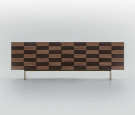 Colosseo Wooden Cabinet Cabinet by Tonin Casa