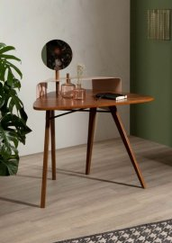 Nipper Wood and Metal Writing Desk by Tonin Casa