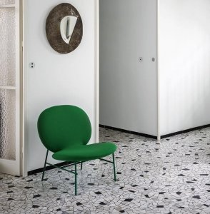 Kelly E Chair Chair by Tacchini
