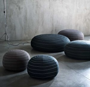 Spin Ottoman by Tacchini