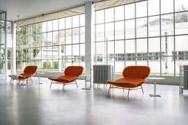 Kelly L Lounge Chair by Tacchini