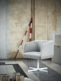 Dressed Chair by Tacchini