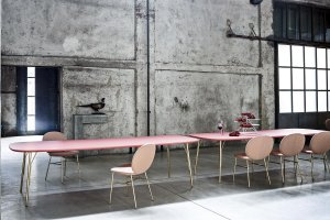 Kelly T Dining Table Dining Table by Tacchini