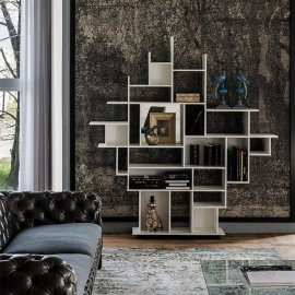 Harlem Bookcase Bookcases by Cattelan Italia