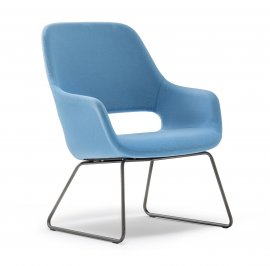 Babila Comfort Chair by Pedrali