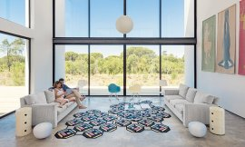 Parquet Tetragon Rugs by Gan Rugs