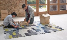 Kilim Seal Rugs by Gan Rugs