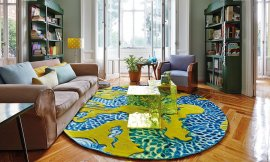 Cadeneta Blue China Rugs by Gan Rugs