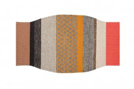 Spaces Mangas Original Campana Rugs by Gan Rugs