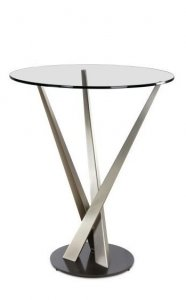 Crystal Pub Table Bar Tables by Elite Modern
