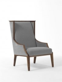 Liala Bergere Armchair Lounge Chair by Porada