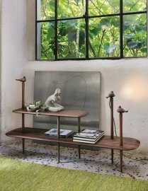 Jenny 156 Service Table End Table by Porada