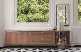 Rondo' 2 Cabinet Cabinets by Porada
