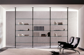 Ubiqua Wall System  Storage by Porada