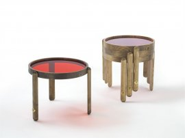 Trittico Side Table Coffee Table by Porada