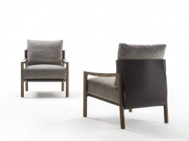 Vera Arm Chair Lounge Chair by Porada