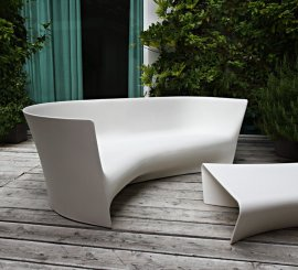 Grand Plie Sofa Chair by Driade