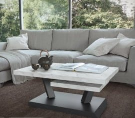 Rumba Revolving Coffee Table by Easyline