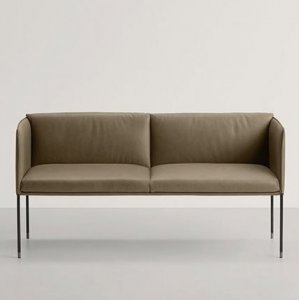 Square Sofa Bed by Frag