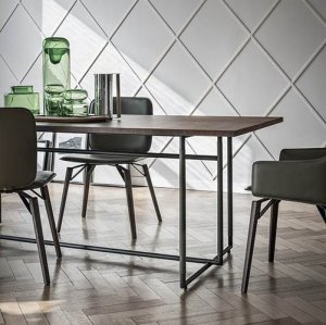 Bak Dining Table by Frag