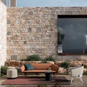 Tuile outdoor Sofa by Kristalia