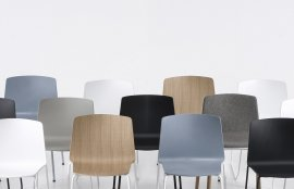 Rama Four Legs Chair by Kristalia