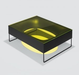 Holo Occasional Table by Kristalia