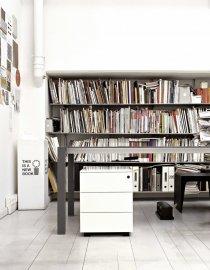 Bureau Metal Drawers Cabinets by Kristalia