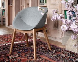 Coquille L Chair Chairs by DomItalia