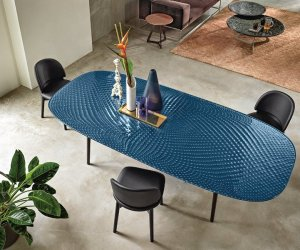 Coral Beach Dining Table by Fiam